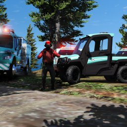 Mount Chilliad Wildfire Response units
