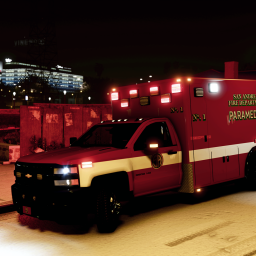 Chevrolet Silverado Ambulance Mini-Pack